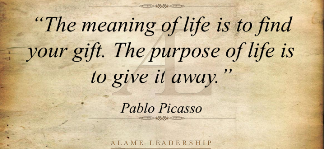How do you find your life purpose?