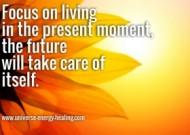 Present moment focus