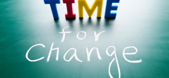 Change in it's own time